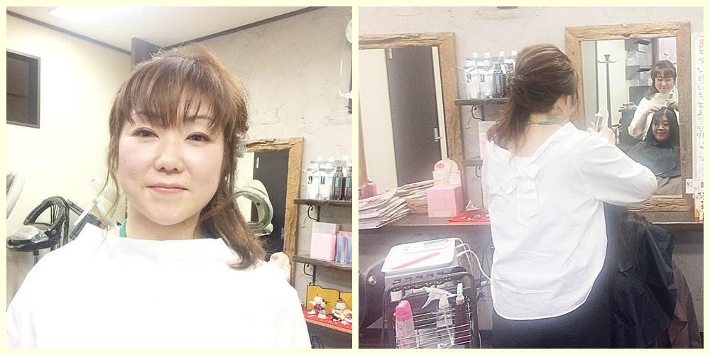 育毛とフェイシャルに力を入れる美容師・貞金三紀子さん