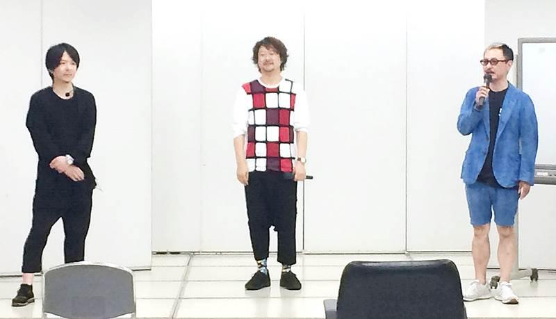 『Shanty』戸石正博さんがホット系パーマ、『BLESS』武田 敦さんがクリープパーマ、『switch』田中征洋さん