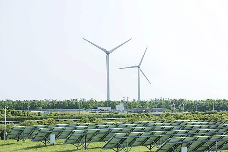 風の王国プロジェクトが手掛ける風力/太陽光発電
