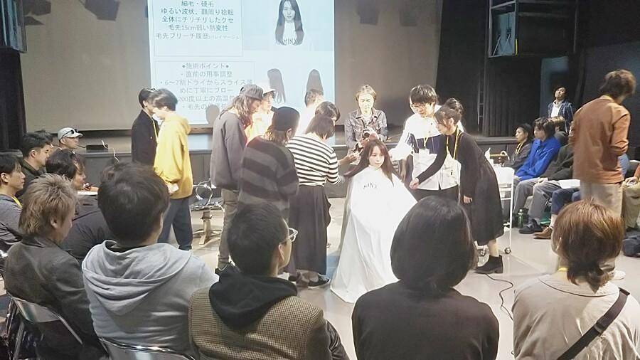 講師・MINX青山店トップデザイナー:佐藤スナオ