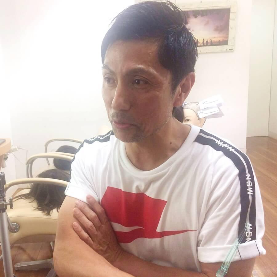 東京・原宿の美容室『Digz hair』のオーナー・黒田博幸之さん