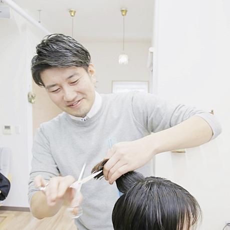 栃木県小山市の美容室『Rafel』オーナーの松葉義彦さん