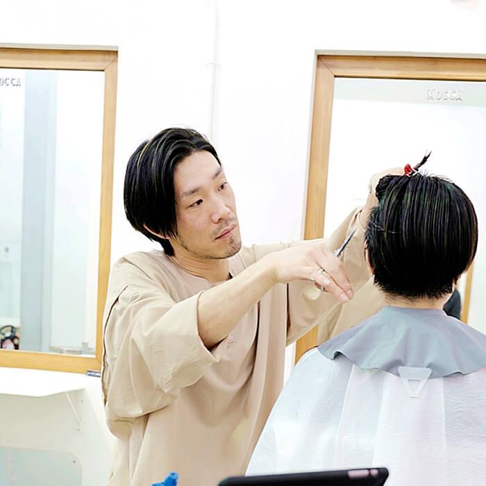 東京都世田谷区豪徳寺の美容室『MOCCA』/オーナーの山口大介さん
