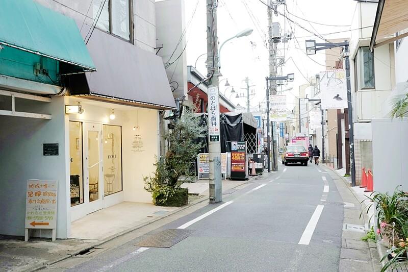 美容室が所在する「豪徳寺商店街」