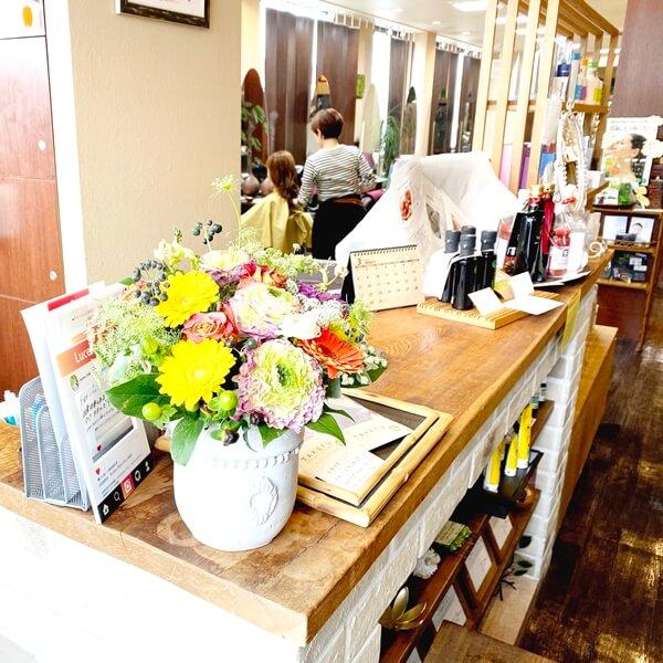 埼玉県朝霞市の美容室『LUCENTE』