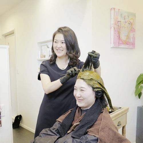 滋賀県栗東市の美容室『fleurir (フルリール)』代表・小野綾子さん